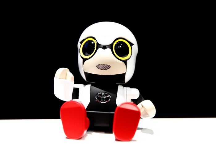 PHOTO: Kirobi Mini joins a growing list of companion robots being developed worldwide. (Reuters: Kim Kyung-Hoon)
