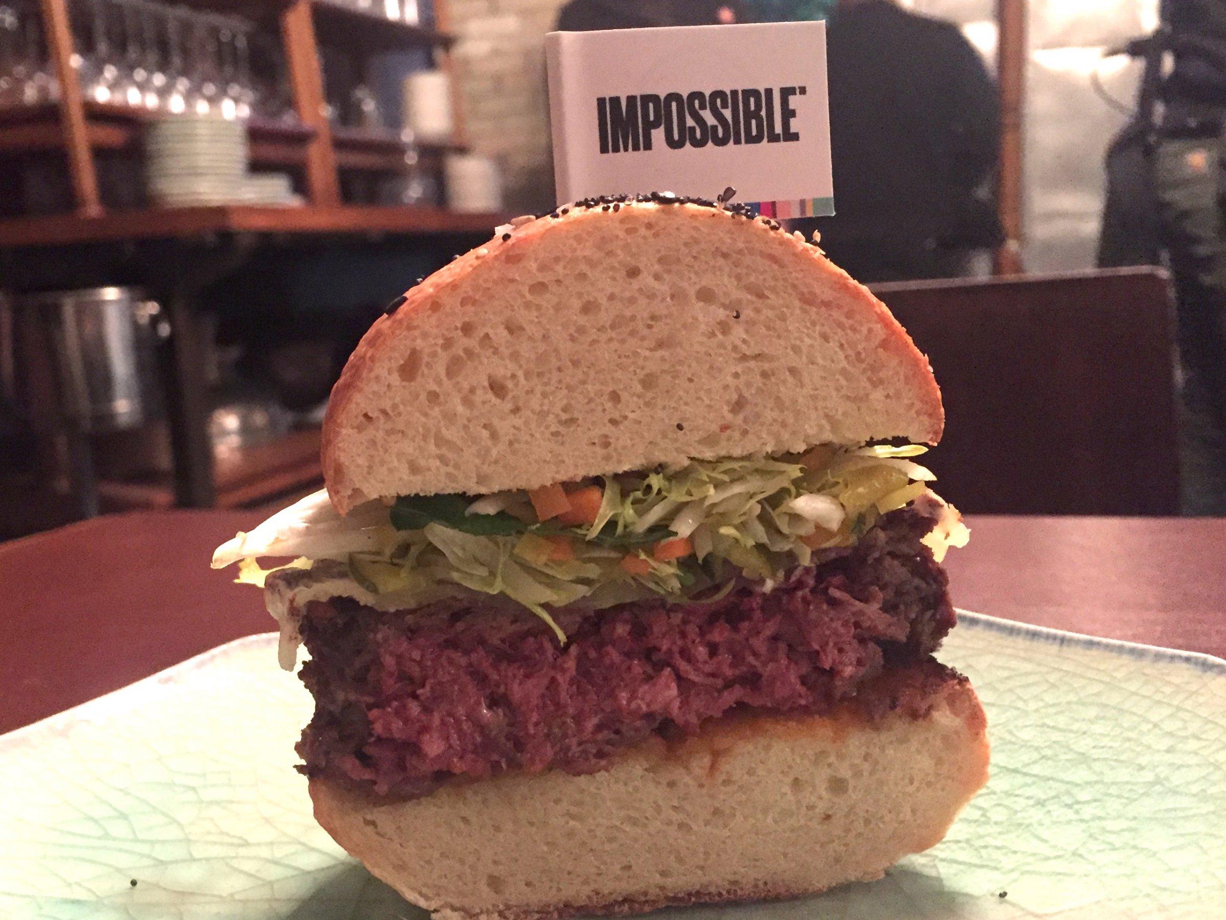 Future Trends – Bleeding Veggie Burgers