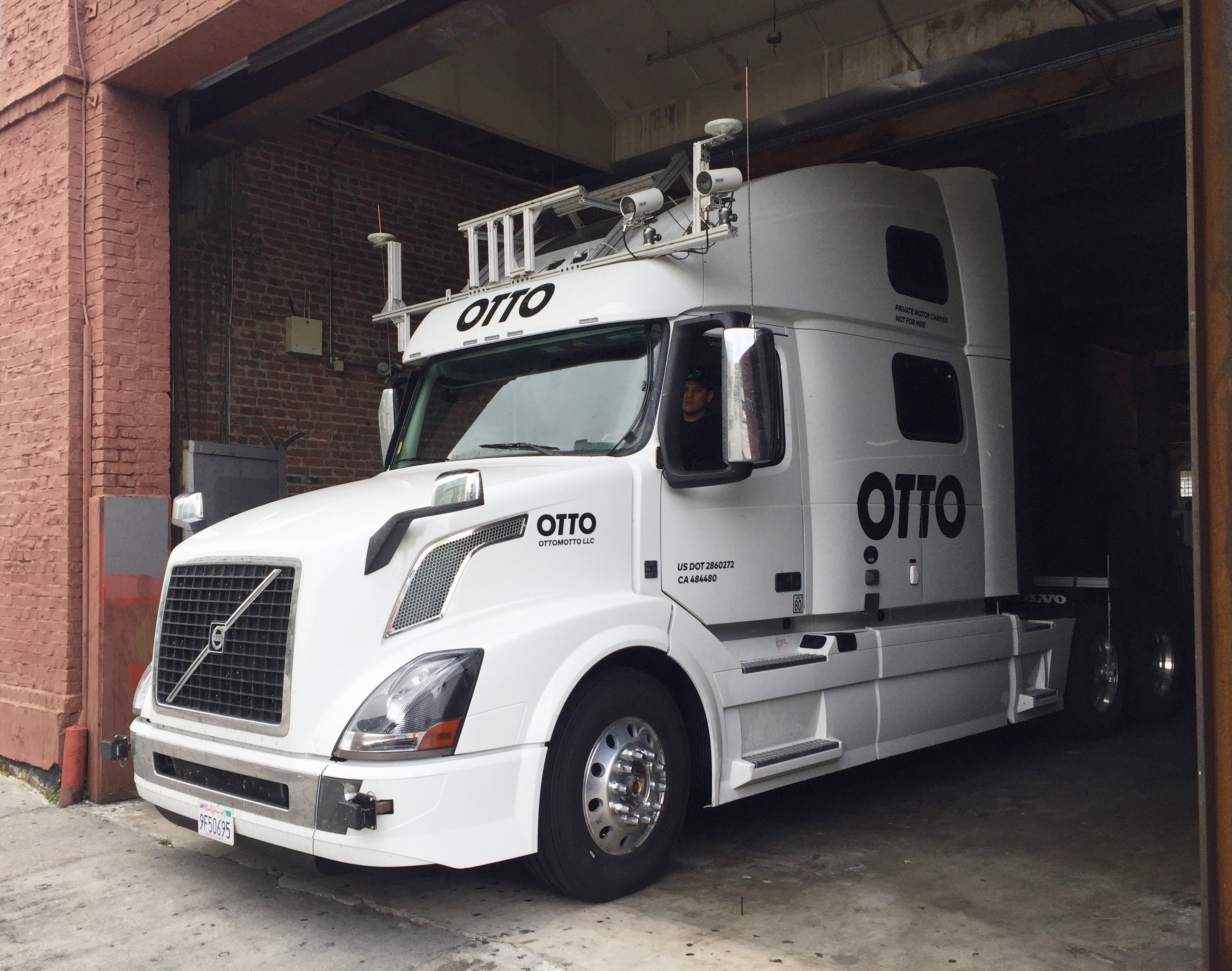 Replacing 3.5 million Americans with Self-driving Trucks