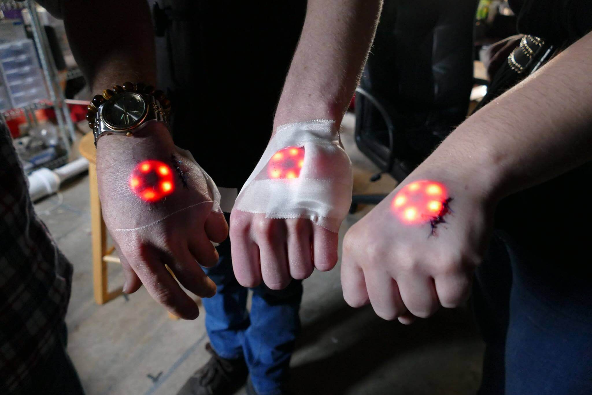 The Future of Biohacking: Implanted LED Lights