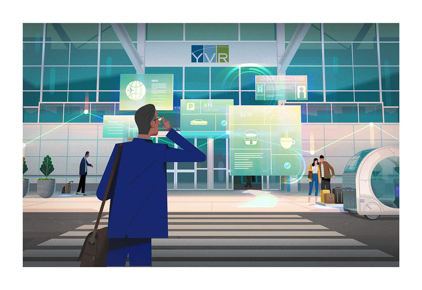 YVR 2037: Welcome to the Airport of the Future