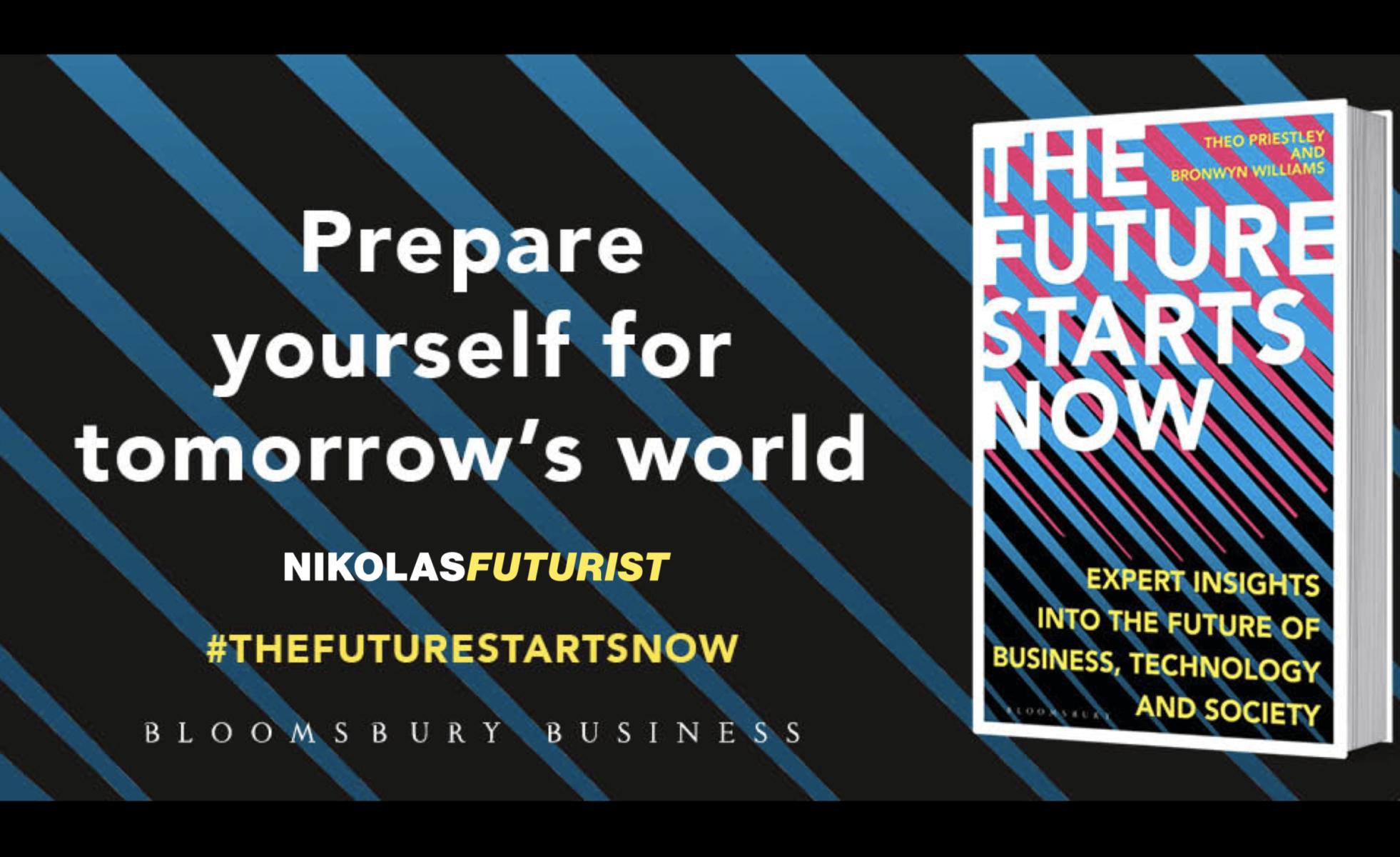 Futurist Author Nikolas Badminton – The Future Starts Now – Start with Dystopia